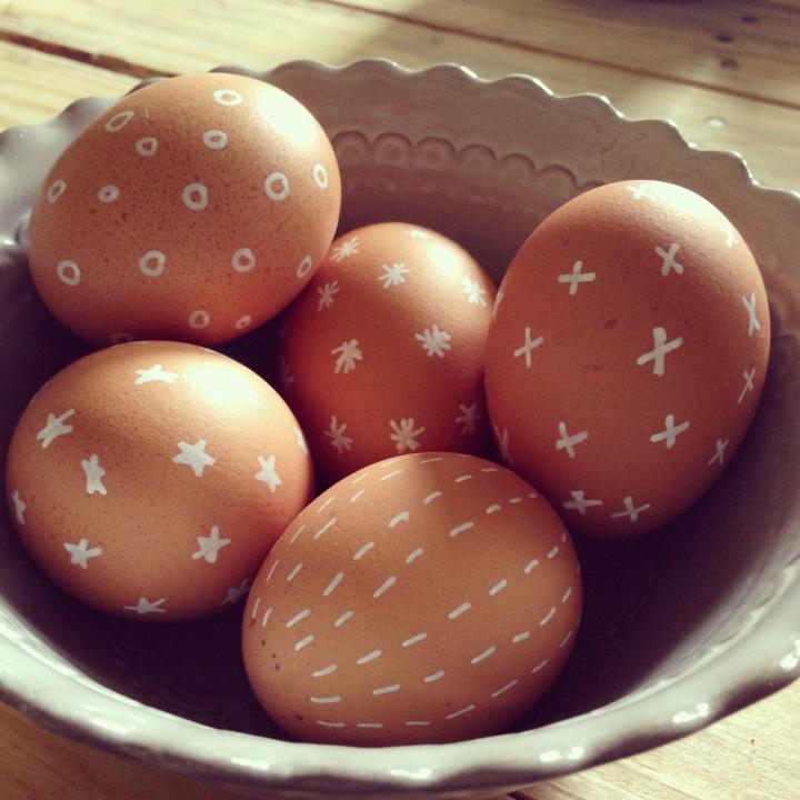 Paint Pen Easter Egg Art