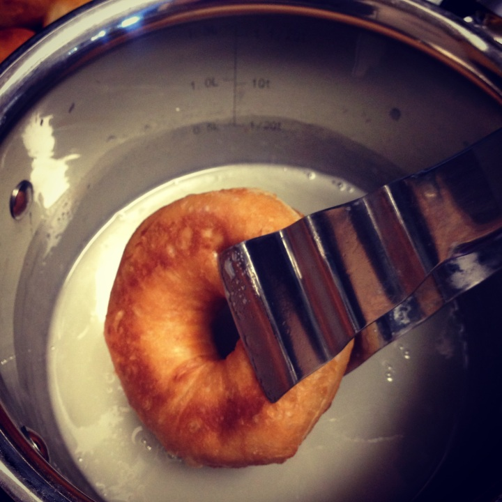 Homemade Glazed Donuts