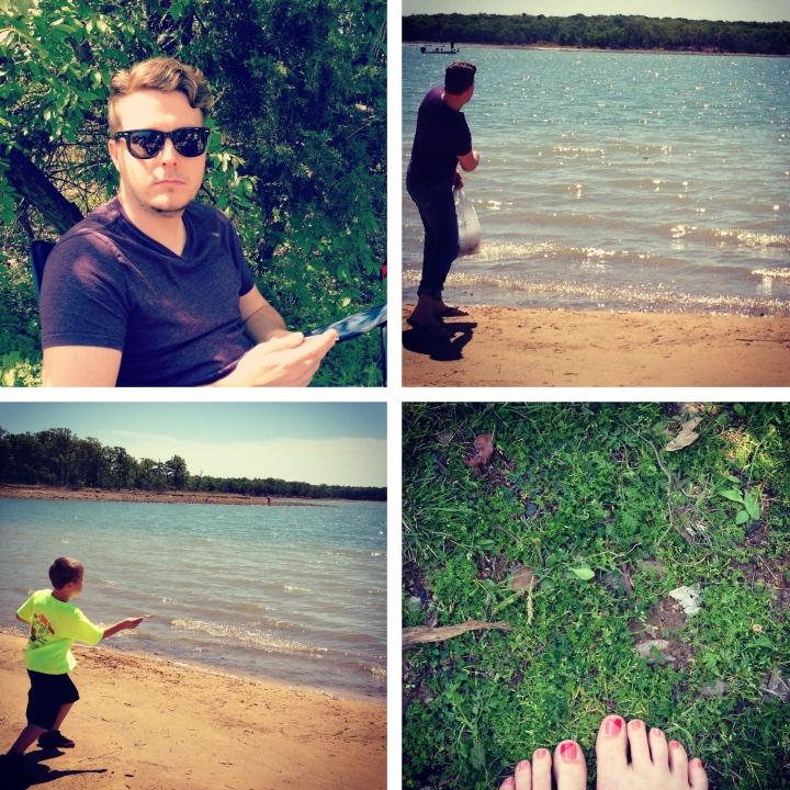 Camping at Lake Ray Roberts
