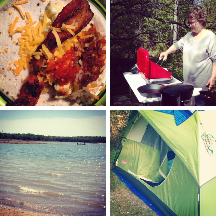 Camping at Lake Ray Roberts