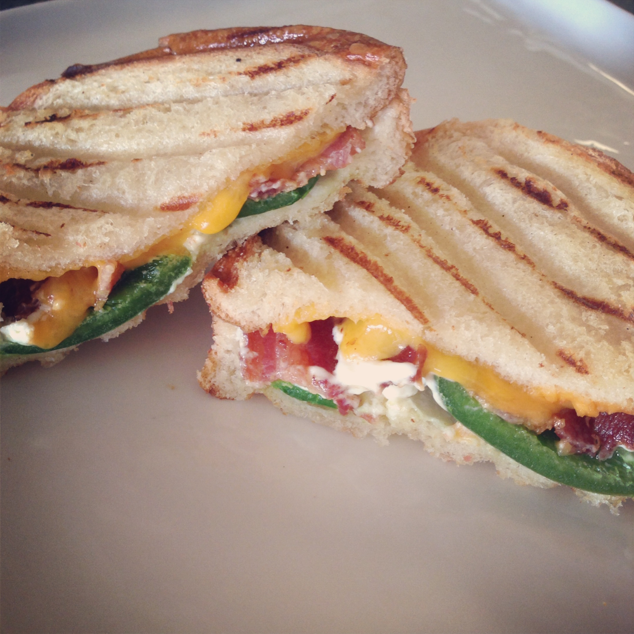 Fancy Grilled Cheese Sandwiches Recipe — Dishmaps