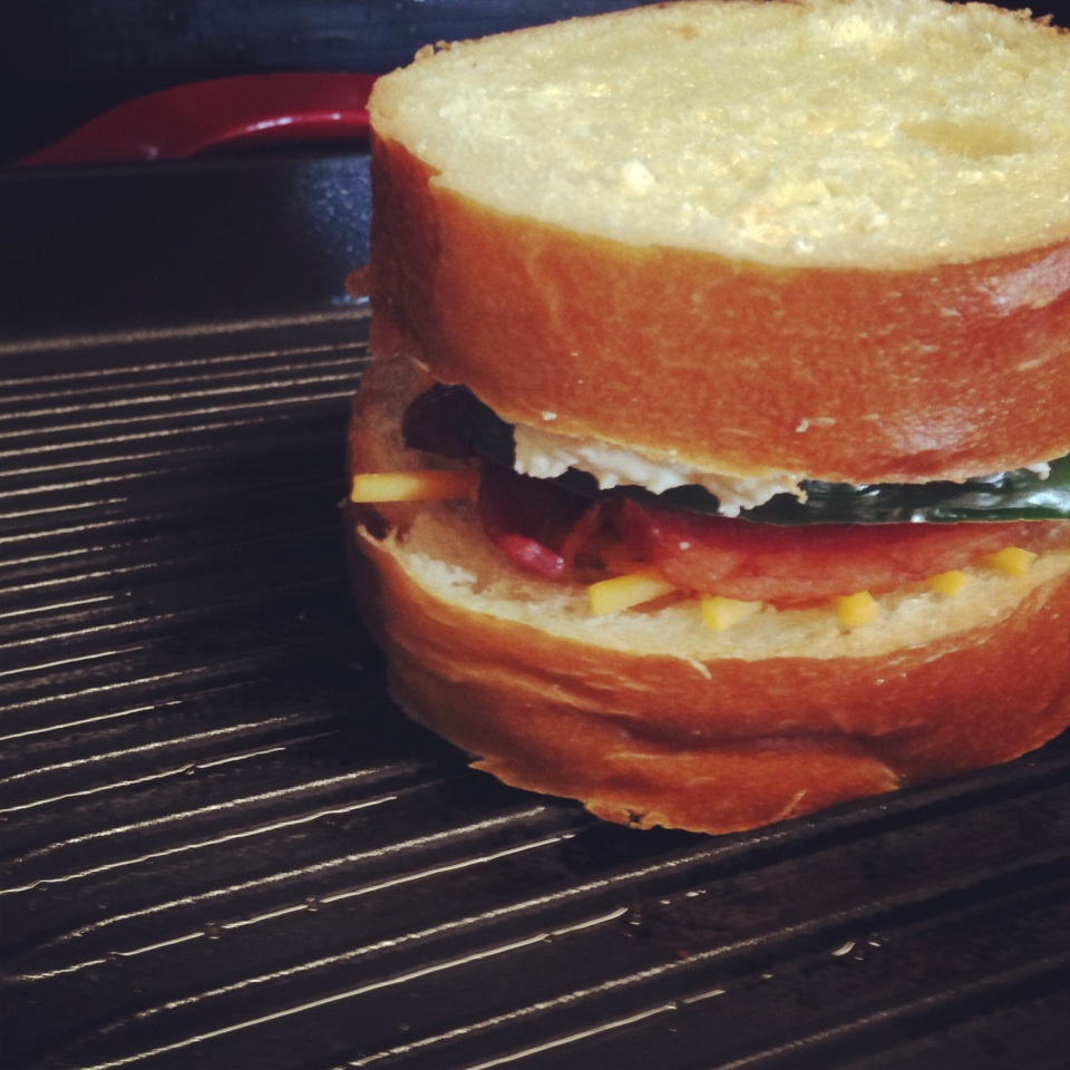 Fancy Grilled Cheese // Jalapeno Popper