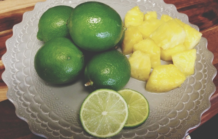 Fresh Pineapple Limeade
