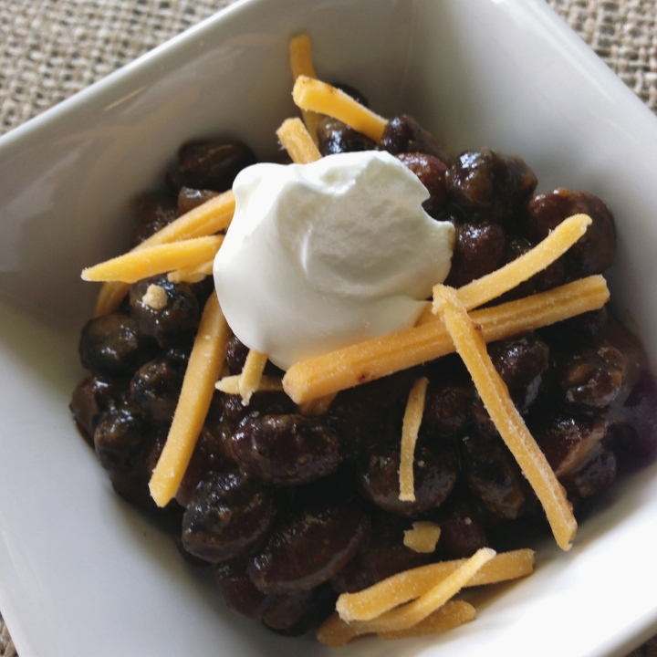 Crockpot Mexican Black Beans