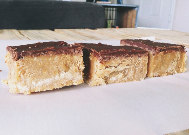 Peanut Butter Bars (Reese's Copycat)