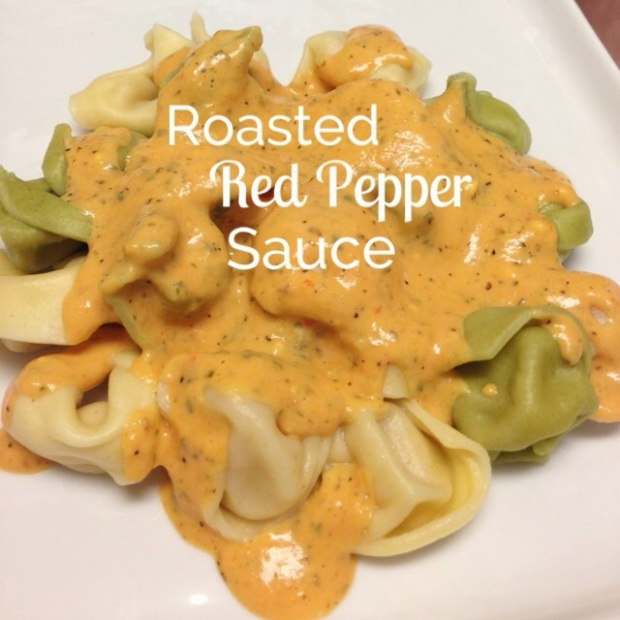 Roasted Red Pepper Pasta Sauce | Hello Homebody