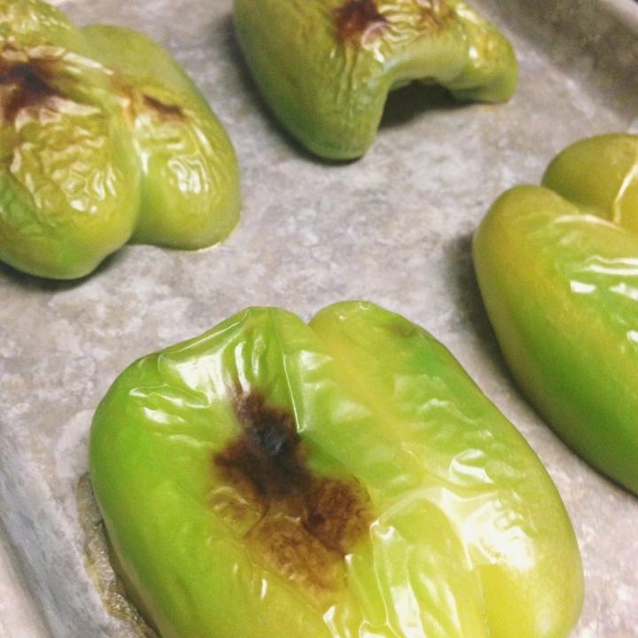 Roasted Stuffed Peppers