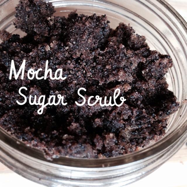 Mocha Sugar Scrub