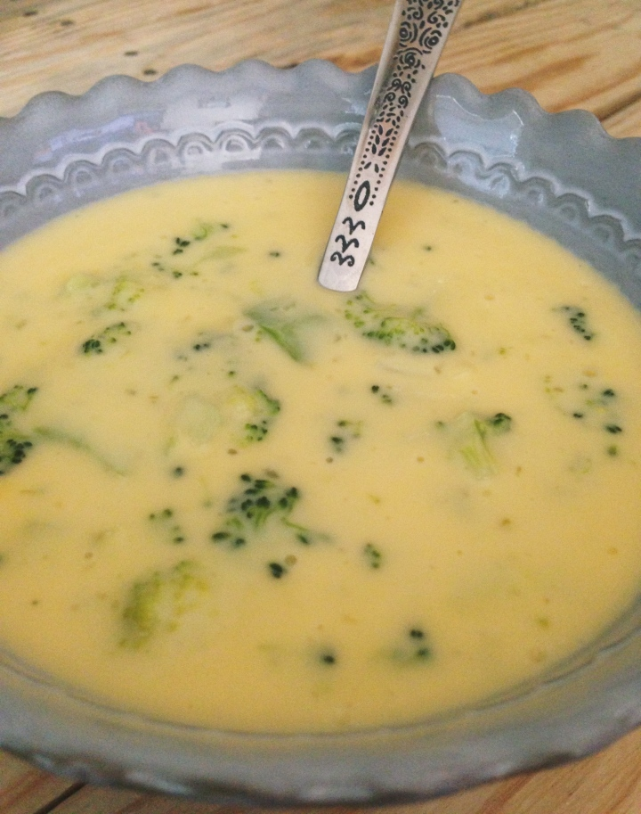 Broccoli Cheese Jalapeño Soup