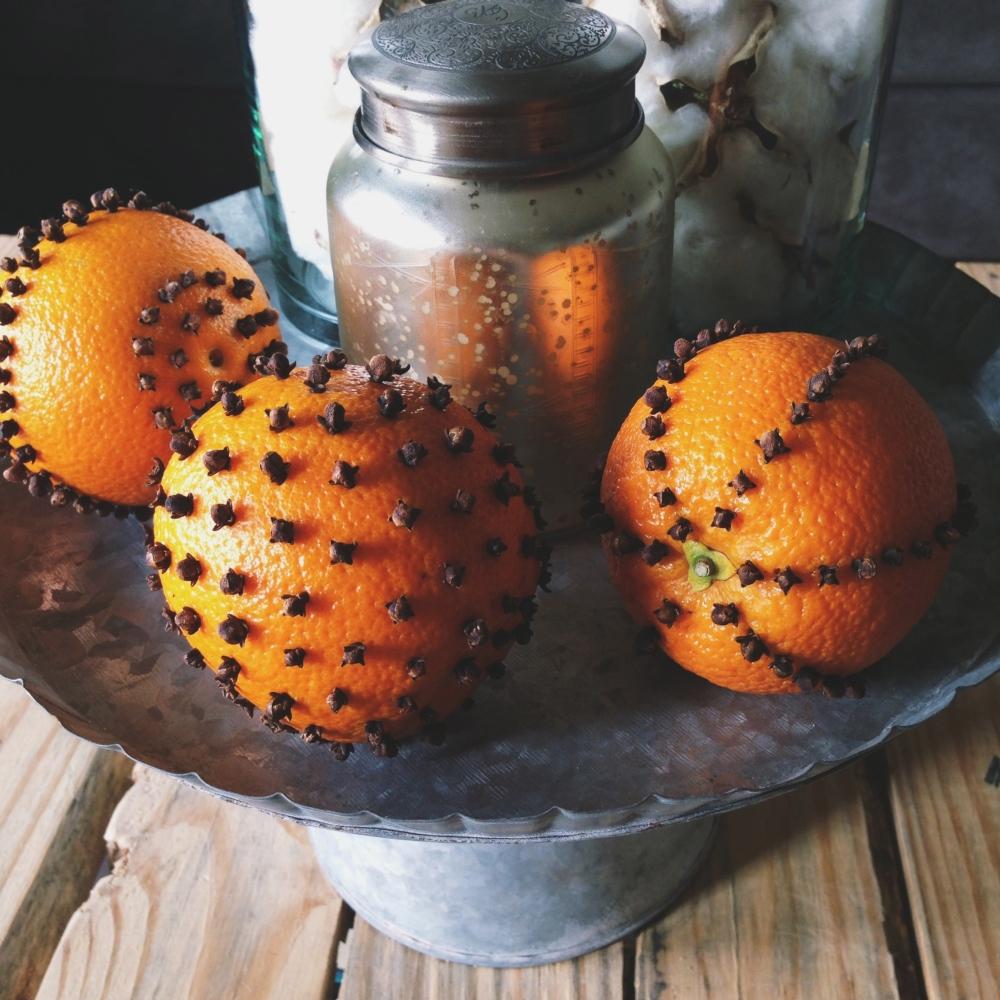 Orange Clove Pomanders