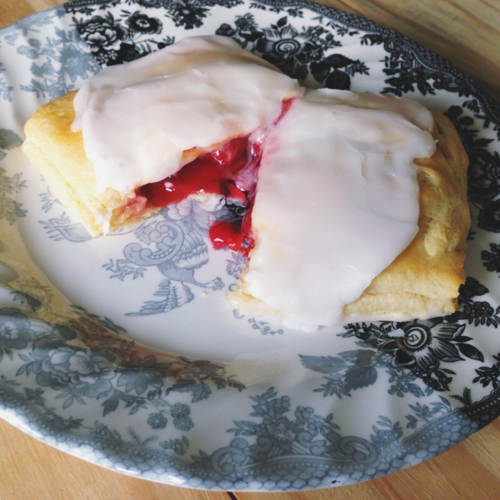 Cherry Turnover Pastries