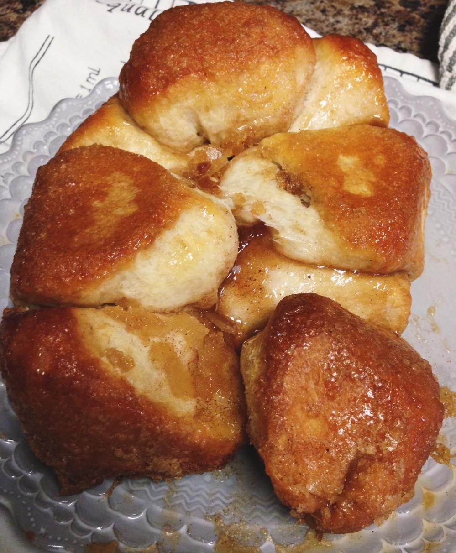 Cream Cheese Filled Gorilla Bread