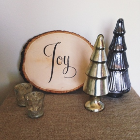 Joy Wood Slice Art DIY