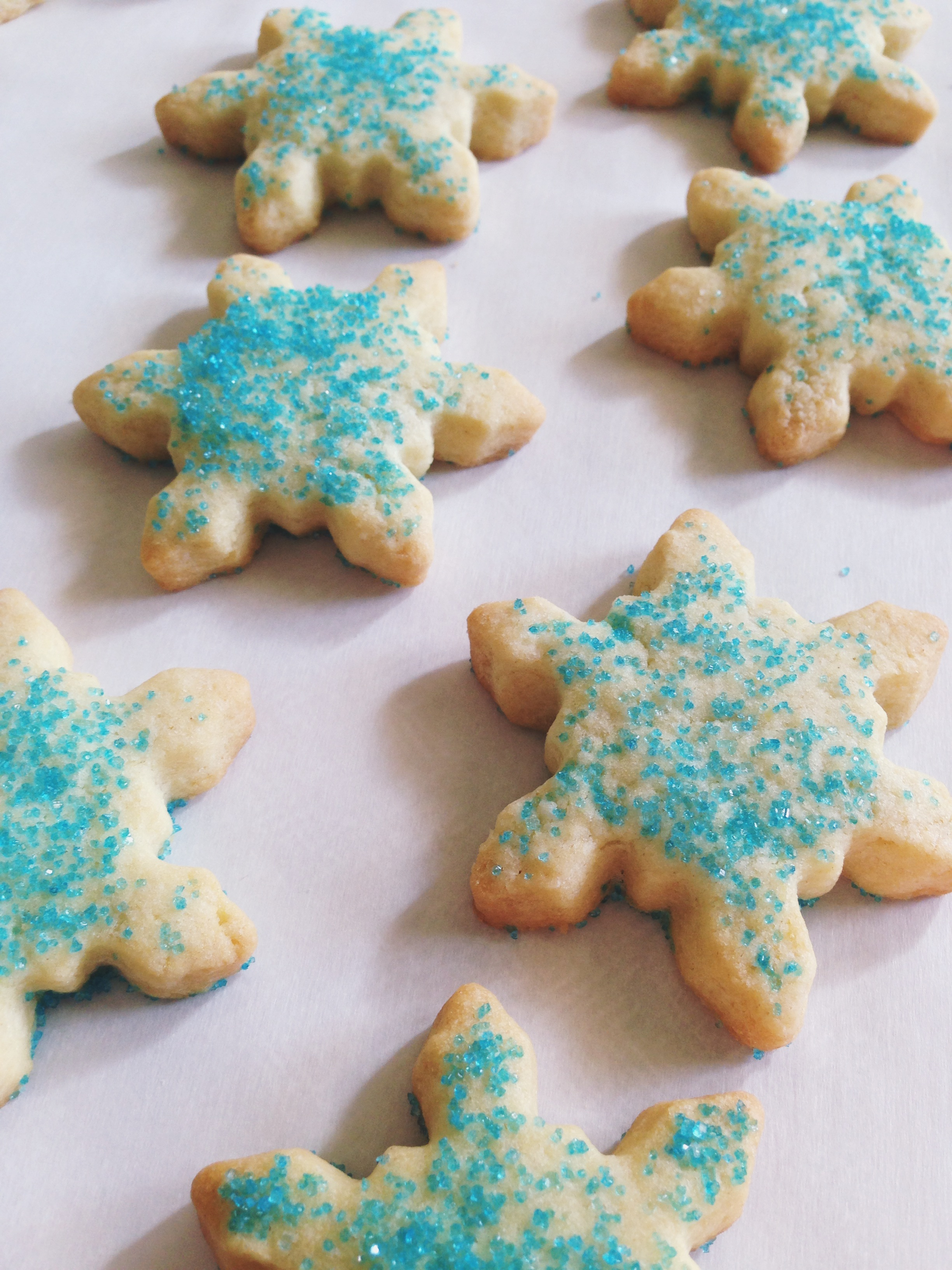 Twelve Days of Christmas Cookies : Old Fashioned Sugar Cookies