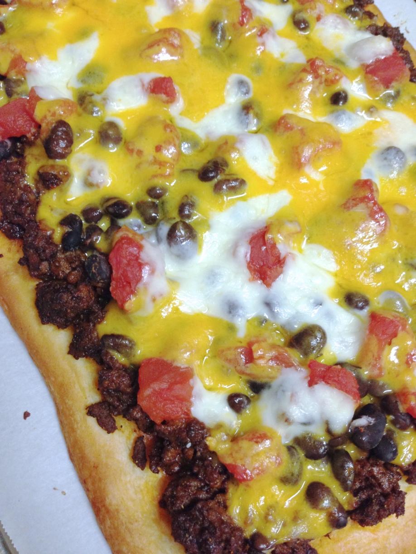 Crescent Roll Taco Pizza