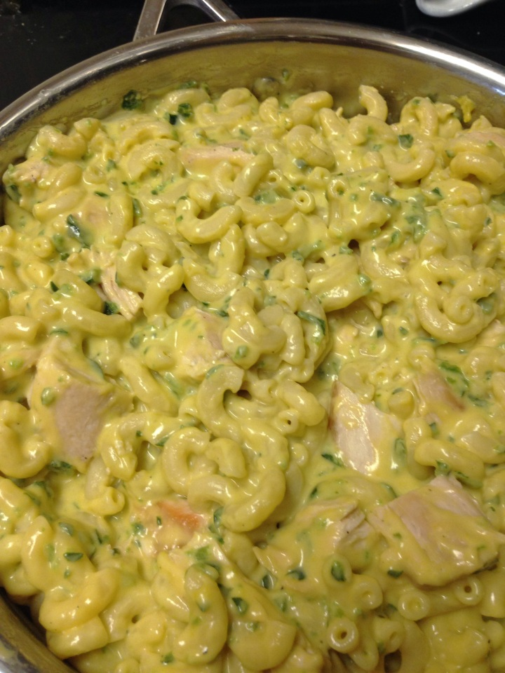 Poblano Chicken Macaroni and Cheese