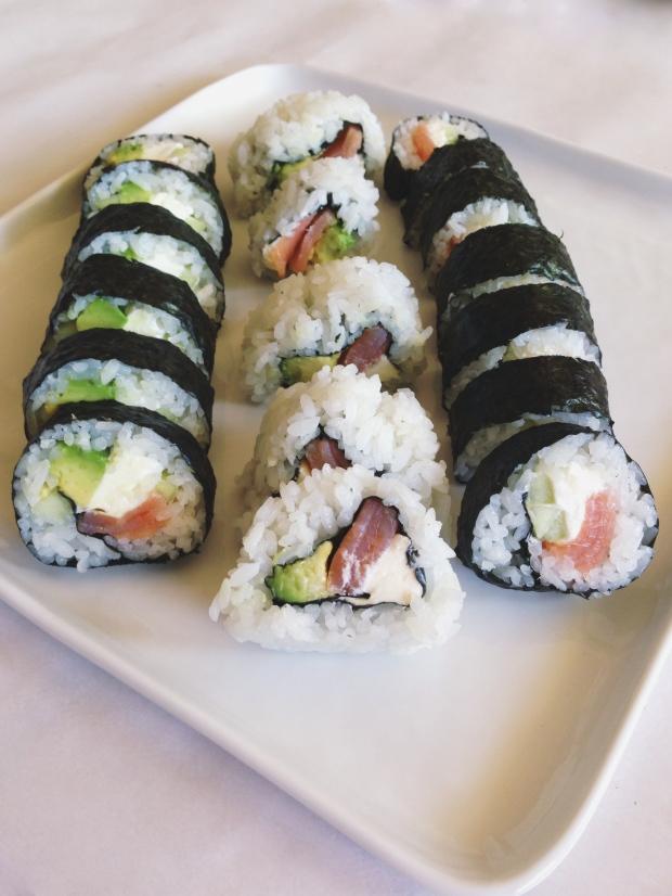 Smoked Salmon Philadelphia Rolls | Hello Homebody