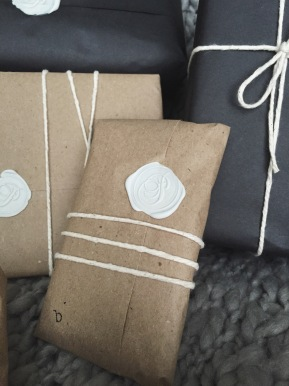 Wax Stamp Seal Present Wrapping