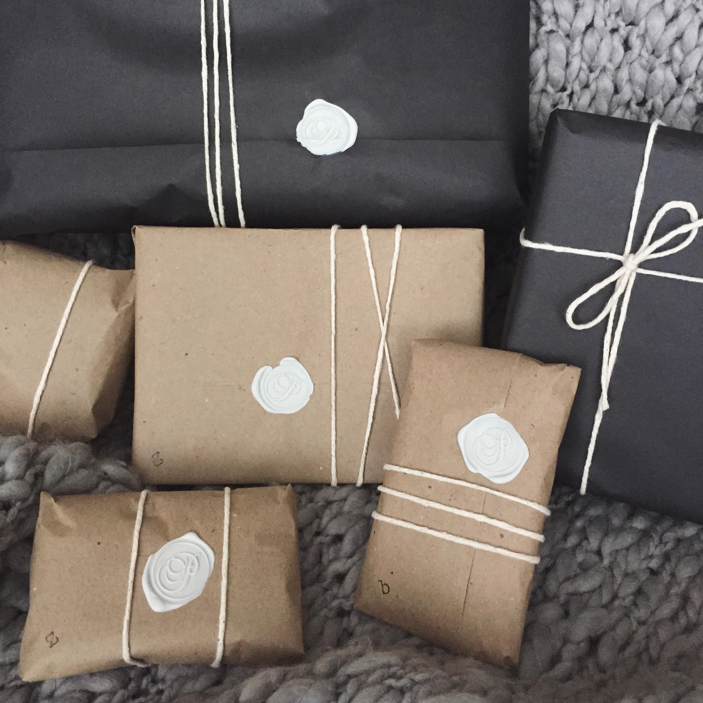 In designs christmas gift wrapping ideas - Diy Gift Wrap With Wax Seals
