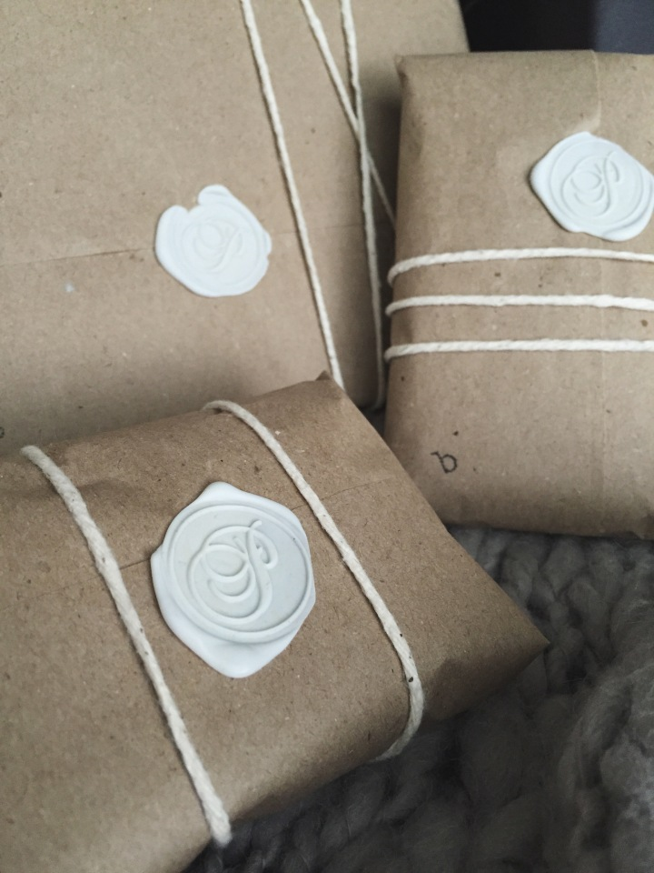 Use a Wax Seal for Gift Wrapping
