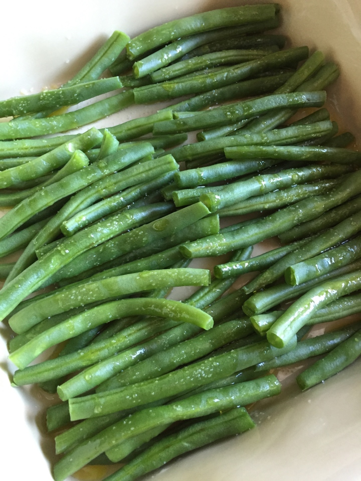 Maple-Glazed Green Beans